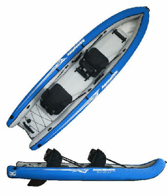 Sale! Aquaglide Rogue 2 Sit-on-Top Tandem Inflatable Diving Kayak, orig
