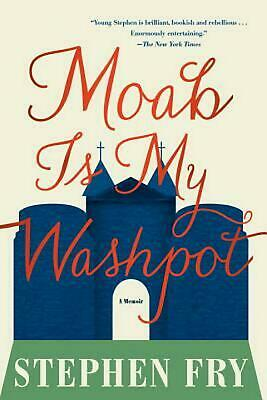 Moab Is My Washpot by Stephen Fry (English) Paperback Book Free Shipping!