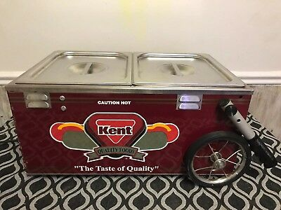 Kent Hot Dog Table Top Cart Wagon
