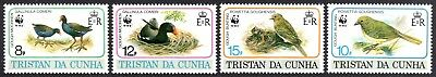 "Tristan Da Cunha F-VF NH Scott 500-503 Set.""Birds"" Scott Value $10.75   MV"