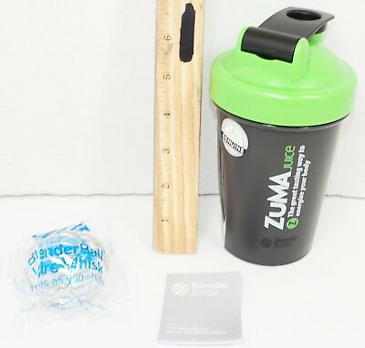 Zuma Juice Shaker Cup - Empty Container Bottle Up To 20 Fl Oz & Blender Ball New