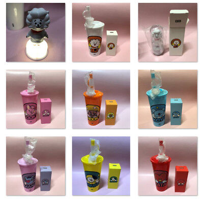 [BTS] BT21 X CGV Official FIGURE TUMBLER SET Bangtan Boys Goods Mood Light Stamp