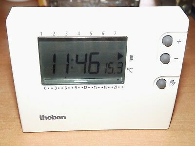 Thermostat Ambiance Programmable Theben 310595