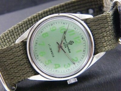 ANTIQUE VINTAGE HAND-WINDING SWISS MADE WRIST WATCH 1081-a104665-2
