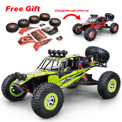 12428 Monster Trucks RC Car 1/12 2.4G Crawler 4WD Off Road High Speed Race Car