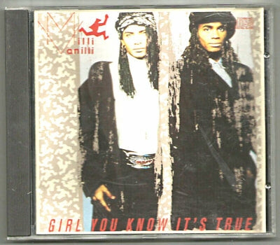 1989 Milli Vanilli Girl You Know It's True Cd Arista Arcd-8592 R&b Soul Music