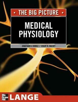 Medical Physiology by Jonathan D. Kibble (English) Paperback Book Free Shipping!