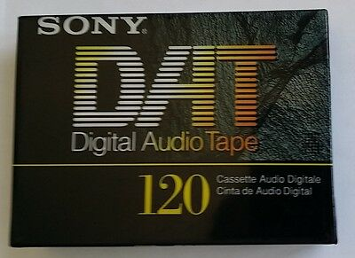 ORIGINAL SONY DT-120RA DT120RA DAT 120 Minutes MADE IN JAPAN NEW SEALED BLANK