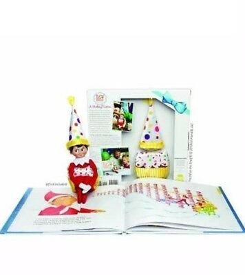The Elf On The Shelf A Birthday Tradition - Childrens Book - Elf Cupcake (BT232)