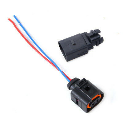 For Audi VW Outside Ambient Air Temperature 2-Pin Sensor 6RD820535+1J0973775A