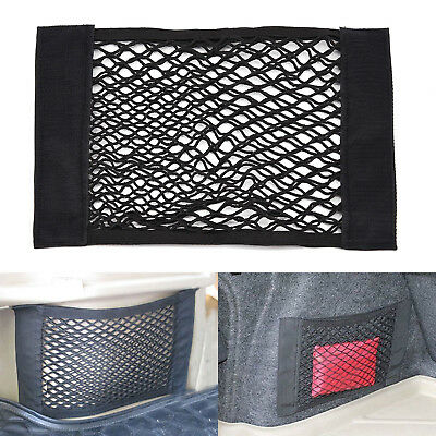 Large Elastic Car Cargo Tidy Net Storage Boot Net Fixing Points Saftey Durable M