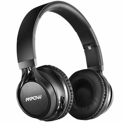 Mpow Thor Bluetooth Headphones Foldable On EAR Headset & Mic For iPhone Samsung