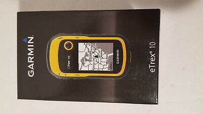 "Garmin eTrex 10 Handheld GPS Receiver Waterproof with 2.2"" Backlit LCD NEW"