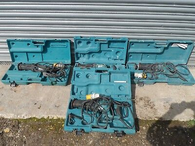 makita 110 volt reciprocating saw complete with carry case no 3