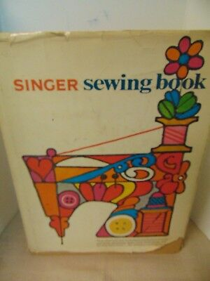 1969 Singer Sewing Book by Gladys Cunningham How to Sew Hard Cover 428 Pgs VTG