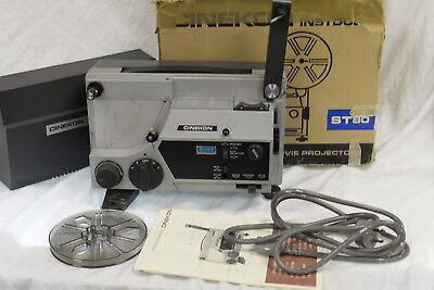 Cinekon Instduo Movie Film Projector  - Super 8 and standard 8mm with Accesories