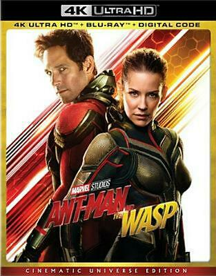 Ant-man and the Wasp Region 1 Free Shipping!