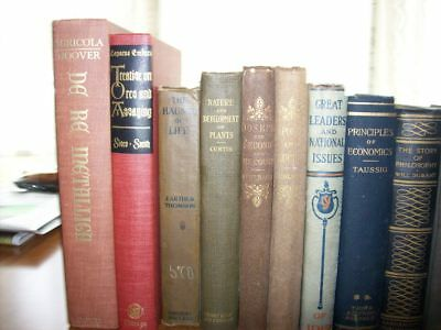 Lot of 30 Antique Collectible Vintage Old Rare Hard To Find Books *MIX UNSORTED*