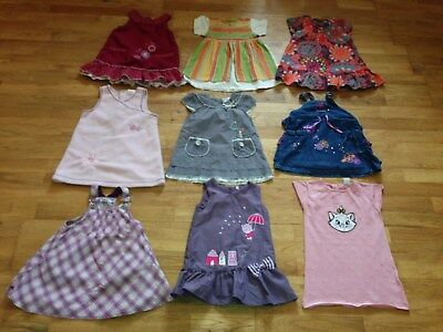 lot robes fille taille 18 mois DPAM kimbaloo kiss melody X9