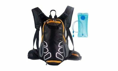 Hiking Outdoor Tactical Travel Shoulder Camping Hydration Orange Sport Backpack