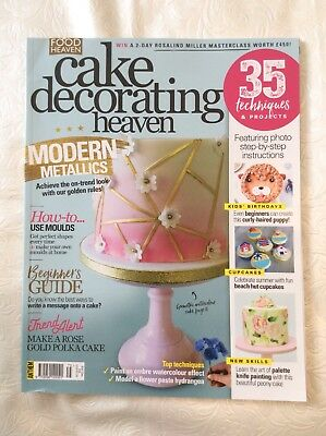 Cake Decorating Heaven July/Aug 18 RRP£4.99