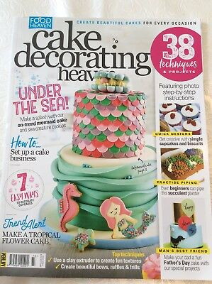 Cake Decorating Heaven May/June 18 RRP£4.99