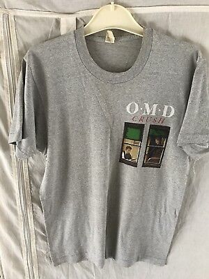 OMD Rare Crush UK T-Shirt Vintage Original # Editors Chvrches Joy Division