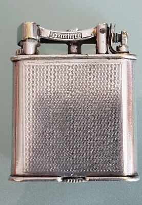 "DUNHILL c.1926 sterling silver ""UNIQUE B"" lighther in very nice condiction"