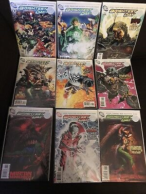 Brightest Day Issues 1 - 24, 0 Complete Run Full Set NM DC