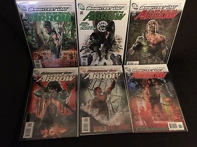 Green Arrow Vol 5 Issues 1 - 12 Brightest Day Complete Run NM DC
