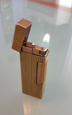 DUNHILL  1960/70  ROLLALITE ROLLAGAS lighter, Made in Swizerland REVISIONATO