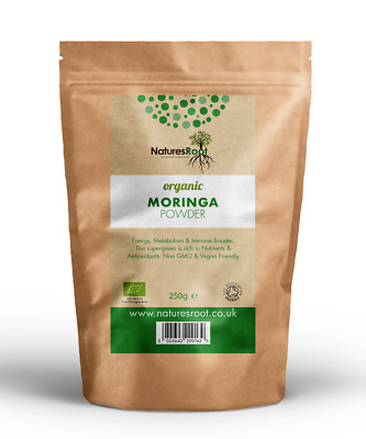 Pure Organic Moringa Oleifera Leaf Powder - Raw | Superfood | Green Smoothie