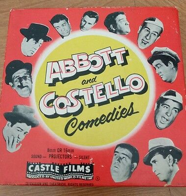Vintage abbott and costello 8mm