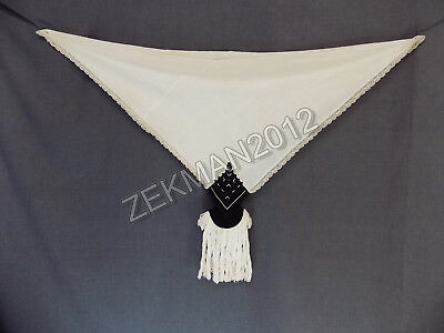 Antique Rare Traditional Folk MacedonianTextile Women's Head Scarf from Bitola