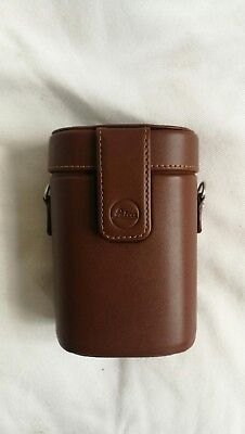 Leica Leather Brown Case for Binoculars 8 x 20 42323 Boxed