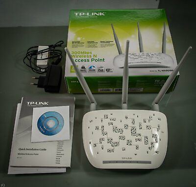 TP-Link TL-WA901ND 300Mbps WLAN N Access Point Verstärker Repeater