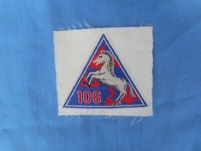 SOUTH VIETNAMESE ARVN 106th Regional Forces SILK Patch.