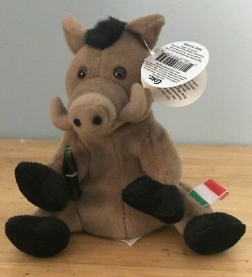 1999 Coca-Cola International Bean Bag Lors the Wild Boar   Italy