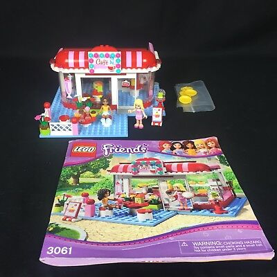 Lego Friends Set 3061 City Park Cafe 100 Complete With Manual