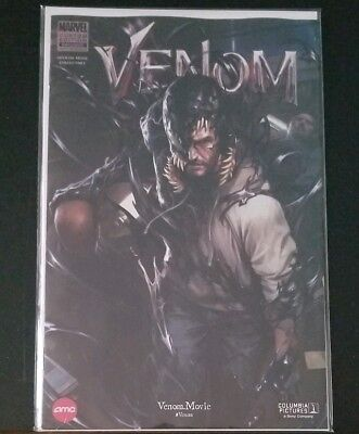 Venom #1 AMC Marvel Limited Edition Exclusive Movie Comic In Hand (Venom)