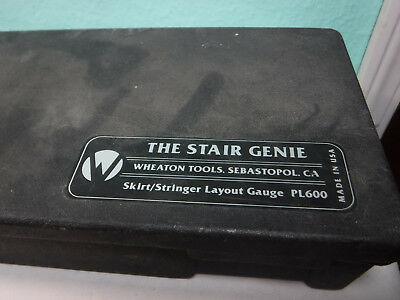 The Stair Genie Layout Tool PL620 Classic Carpenter Layout Tool PL608 PL600