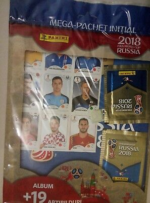 Panini Russia 2018 STARTER PACK - album for 670 stickers / pink back side