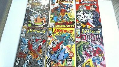 Deathlok (1991-94) #1-6, 1 2 3 4 5 6 Marvel Run  /1389/