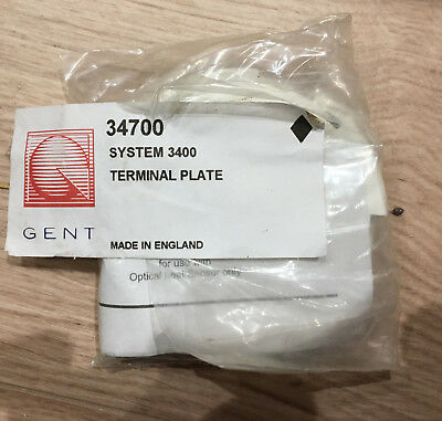 GENT 34700 Terminal Plate, Detector Base - 32000 New