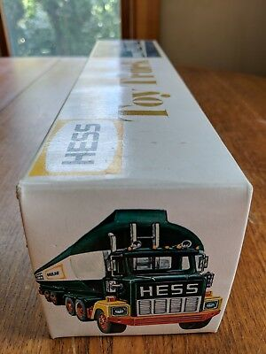 1978 Hess Fuel Oil Tanker Toy Truck With Original Box Inserts Instruction