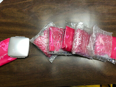 Lot Of 6: Mary Kay Mk Signature Compact Purse Mirror - Regular & Magnified