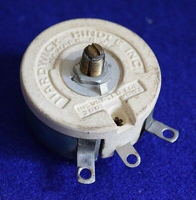 Hardwick-Hindle, Inc.-Type H-50 Rheostat - Take a L@@K