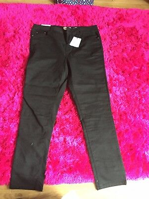 New Look Jeans 18 Black NWT