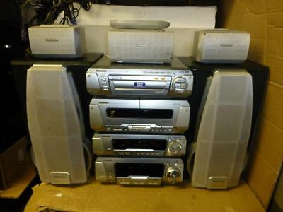 Technics DV290 SEPARATE COMPONENT STEREO SYSTEM With Remote-SUPERB SOUND