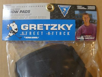 1996 Ultra Wheels  Wayne Gretzky Street Attack  Elbow Pads